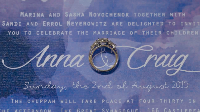 Anna + Craig | A Jewish Wedding Film, The Great Synagogue